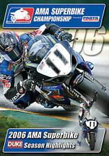 2006 AMA SUPERBIKE CHAMPIONSHIP DVD. 120 Mins. Ben Spies etc. DUKE 2129N