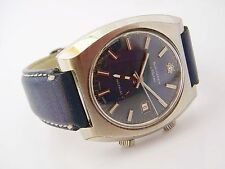 BUCHERER Vintage Herrenuhr, Armbandwecker Handaufzug mit Alarmfunktion!