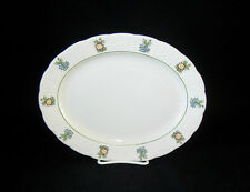 "ROYAL CAULDON ENGLAND BRISTOL/JUNE GARDEN 11"" Oval Platter"