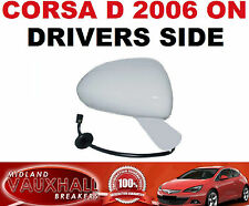 Vauxhall corsa d électrique chauffée primed wing mirror drivers off side sri sxi