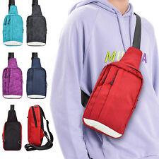 Men Women Cross body Shoulder Bag Chest Sling Pack Daily Travel Hiking Handbag