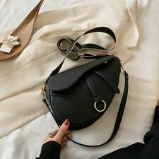 Small Faux Leather Vintage Aesthetic Dior Saddle Bag Dupe