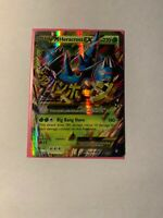 Pokemon M Heracross EX 112/111 Secret Rare XY Furious Fists Excellent/NM(~)