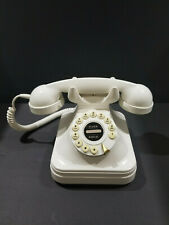 Vintage FLASH REDIAL Style Push Button Telephone Model GRAND PHONE IVORY