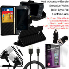 Quality Magnetic Leather Wallet Stand Phone Case Cover Protection✔Accessory Pack