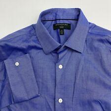Banana Republic Button Up Shirt Mens Medium Non Iron Slim Fit French Cuff L/s