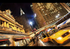 NEW YORK CITY TAXI NEW A4 POSTER GLOSS PRINT LAMINATED