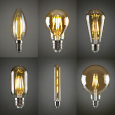 Vintage Industrial Filament LED Light Bulb Retro Edison A+ Pack Of 4 UK Stock