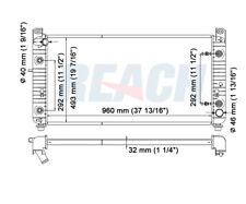 Radiator Reach Cooling 41-2948