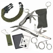 Camping Survival Pocket Multi Tools Kit Outdoor Sports Fishing Hiking Hunting
