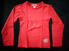 tee-shirt manches longues rouge 6 ans ORCHESTRA TBE