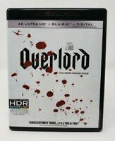 Overlord Bilingual 4K UHD Ultra HD + Blu-ray Combo