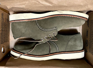 Red Wing JCrew Suede Oxfords shoes Size US 9  Loden Green Shoes