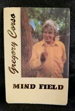 "GREGORY CORSO - ""MIND FIELD"" - Hanuman Books First Edition"
