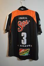 Jaguares de Chiapas FC Atletica Mexico Futbol Jesus Chavez  3 Game Jersey Mens M