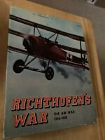 Richthofen's War Game Avalon Hill 1972 Complete Mostly Unpunched
