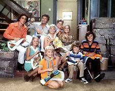 The Brady Bunch Cast 1970's Tv Show 8x10 Glossy Photo