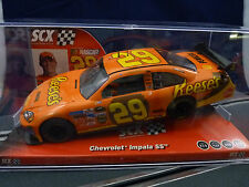 "SCX ANAOG 2008 # 29  64210 CHEVY IMPALA SS JEFF BURTON ""REESE'S"" NASCAR"