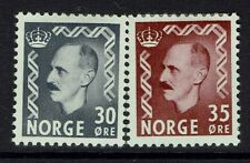 Norway SC# 311 and 312, Mint Hinged, Hinge Remnant - Lot 041617