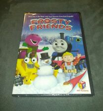 BRAND NEW Frosty Friends - Barney, Thomas The Tank Engine, Bob the Builder (DVD)