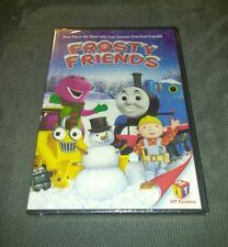 BRAND NEW Frosty Friends - Barney, Thomas The Tank Engine, Bob the Builder (DVD)
