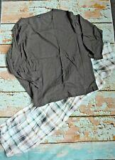 AriZona Pijama Mujer Talla 52/54 Braun de Cuadros (869) Especial Nuevo