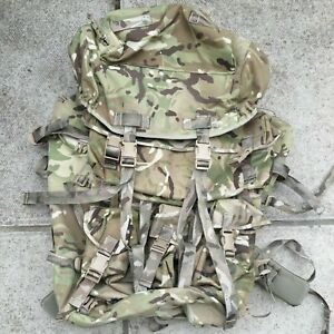 New Modified Short / Long Back MTP Bergen Triple Pouch and Basha Stash Army PLCE
