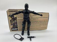 GI Joe 1982 Snake Eyes v1 Straight-Armed Complete Hasbro Action Figure