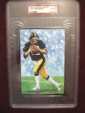 1989 Goal Line Art #5 Terry Bradshaw Pittsburgh Steelers Gem Mint 10