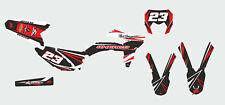 kit deco sherco 50 de 2014 a 2017 noir et rouge