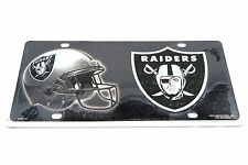 Oakland Raiders NFL Football Aluminum Metal License Plate Sign Tag NEW