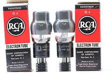 2 X 6Y6G TUBE. RCA BRAND TUBE. NOS/NIB. MATCHED PAIR. CRYOTREATED. H13V1F250615