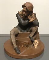 1983 Tom Clark Hamlet Gnome Figurine SIGNED Studio Item 47 Cairn Studio
