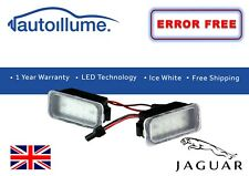 Jaguar XF LED Number Plate Light Units 18 SMD Canbus Compatible