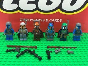 LEGO 6 MANDALORIAN TROOPER minifigures STAR WARS set 75267 7914 9525 figures