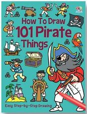 HOW TO DRAW 101 PIRATE THINGS __ BRAND NEW __ FREEPOST UK