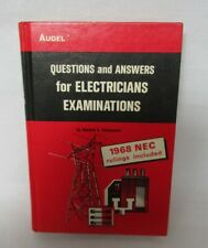 Questions and Answers for Electricians Examinations 1971 Book Roland Palmquist