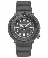 Seiko Prospex Diver 47 mm Gray Case Silicone Strap Men's Watch  - SNE537