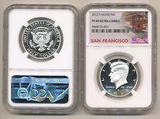 2012 S NGC PF69 UCAM SILVER PROOF Kennedy Half dollar PR69 San Francisco Label