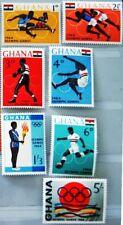 GHANA 1964 188-94 179-185 Olympics Olympia Tokyo Sport Boxen Fußball MNH