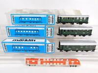 CO551-0,5# 3x Märklin H0/AC Personenwagen DB: 4067 + 4079 + 4080, NEUW+OVP