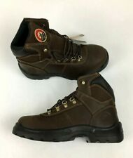 "IRISH SETTER RED WING ELY 83608 MEN LEATHER 6"" STEEL/SAFETY TOE Size 10.5"