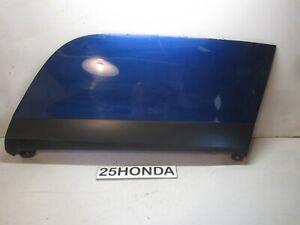 2000-2006 Honda Insight Drivers Side Rear Fender Skirt Blue OEM ZE1 Rare