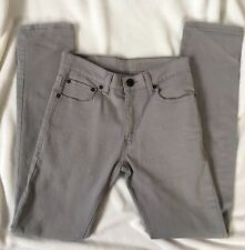 Levis Super Skinny Gray Mens Jeans 510 27X27 Small  Black Label