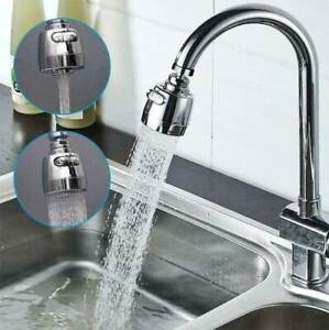 360° Saving Sink Tap Head Water faucet extender Aerator Spray Sprayer Kitchen ~