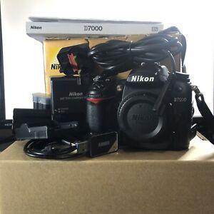 NIKON D7000 16.2MP DSLR Camera [BODY ONLY] (PLUS EXTRAS) [READ DESCRIPTION]
