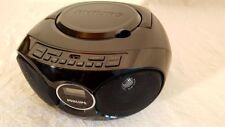 Philips AZ318B/12 CD Player Soundmachine CD CD MP3 Audioeingang USB UKW Schwarz