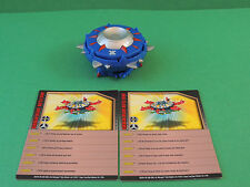 Bakugan Hurrix blue Aquos 280G mobile assault vehicle Mechtanium Surge S4