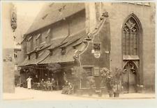 Allemagne - Nuremberg, Taverne de la petite cloche  Vintage albumen print  Tir