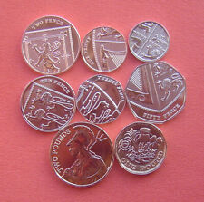 United Kingdom 2021 1 Penny - 2 Pounds 8 Coins Set